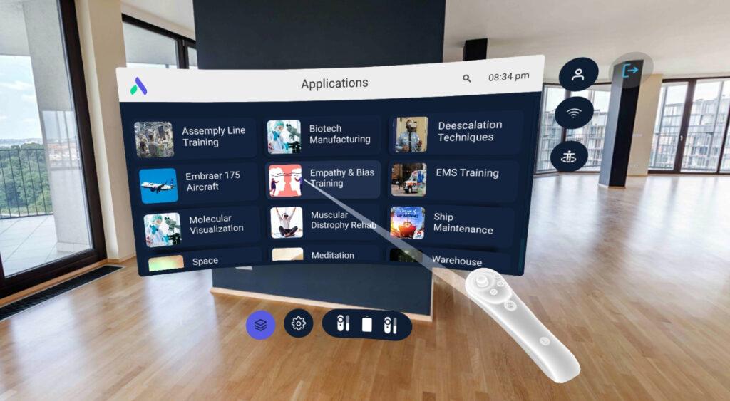 Enterprise Kiosk Mode VR Content Launcher