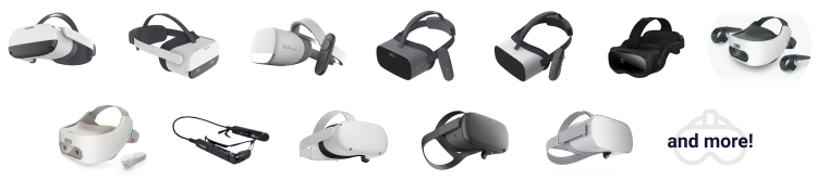 VR and AR Headsets